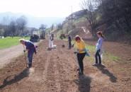 Pomladanska delovna akcija v Malem raju